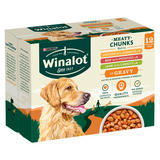 WINALOT Dog Food Pouches Mixed in Gravy 12x100g