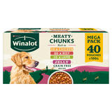 WINALOT Dog Food Pouches Mixed in Jelly 40 x 100g