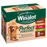 WINALOT Perfect Portions Dog Food Mixed in Gravy 12 x 100g