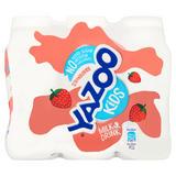 Yazoo Kids No Added Sugar Strawberry Milk Drink 6 x 200ml