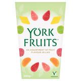 York Fruits An Assortment of Fruit Flavour Jellies 350g