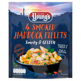 Young's 4 Smoked Haddock Fillets 360g