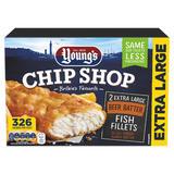 Young's Chip Shop 2 Extra Large Beer Batter Fish Fillet 300g