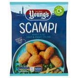Young's Scampi Wrapped in Our Light & Crispy Crumb 220g